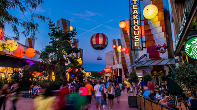 Liste Des Attractions De Disney Village Street De Disney Village