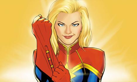 [Portrait] Carol Danvers (Captain Marvel)