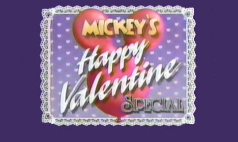 Bonne Saint-Valentin Mickey