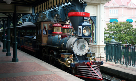 Disneyland Railroad - Main Street Station
