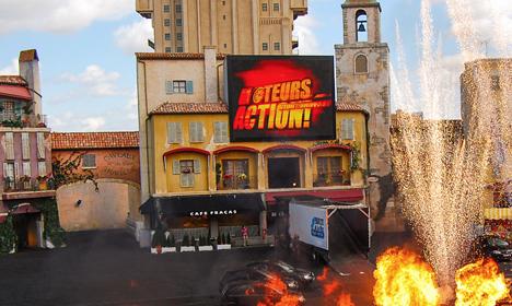 Moteurs... Action ! Stunt Show Spectacular