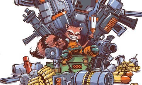 [Critique] Rocket Raccoon : Monstre en Folie