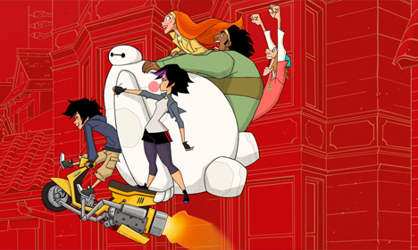 Big Hero 6 : Baymax Returns