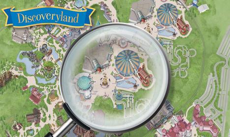 Les Secrets de Disneyland Paris - Discoveryland