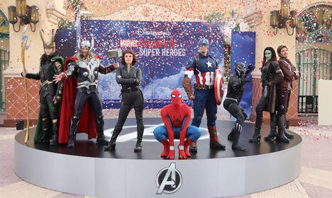 Lancement de L'Été des Super Héros Marvel
