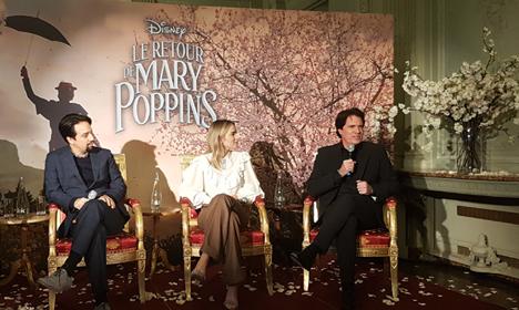 [Dossier] Le Retour de MaryPoppins-Rencontre avec l'Équipe du Film
