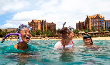 Les Trois Resorts Disney sans Parcs