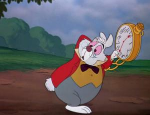 Alice au pays des merveilles 1951 chronique disney - Le lapin d alice au pays des merveilles ...