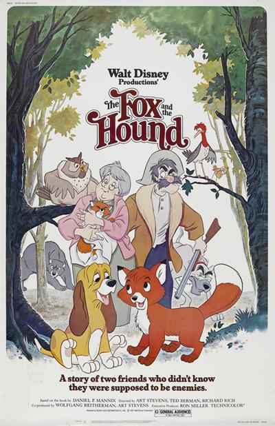 Rox et Rouky Chronique Disney
