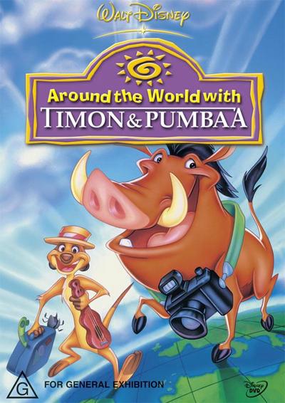 Timon et Pumbaa - Volume 1 : Les Globetrotters affiche