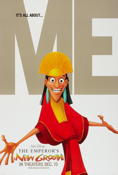 Kuzco, Disney's Bad Boy Hero, by Whatsits Galore.