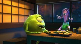 monstres cie chronique disney critique du film pixar. Black Bedroom Furniture Sets. Home Design Ideas
