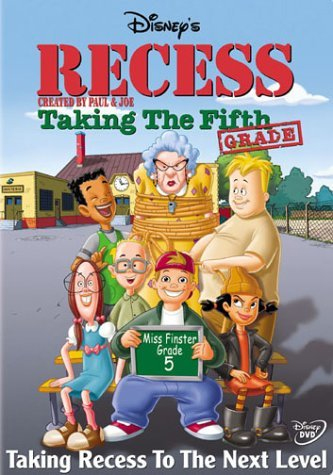 Jaquette Recess : Taking the Fifth Grade