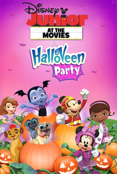 Disney Junior at the Movies : HalloVeen Party !