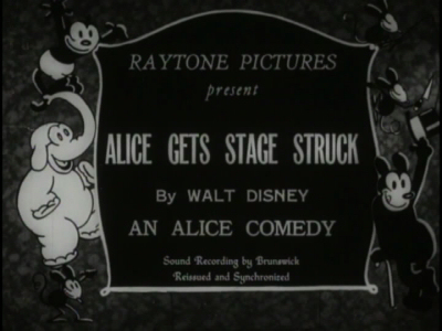 Alice Stage Struck