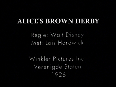 Alice's Brown Derby