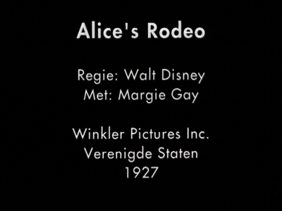 Alice at the Rodeo