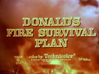 Donald's Fire Survival Plan