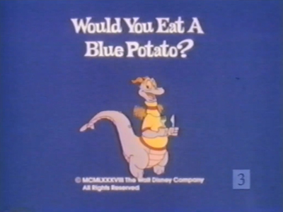 Would You Eat a Blue Potato ?