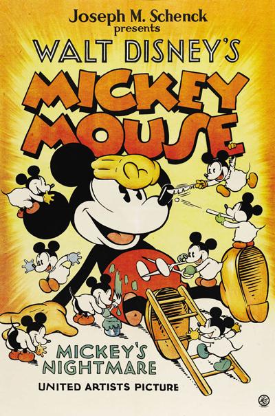 Le Cauchemar De Mickey Chronique Disney