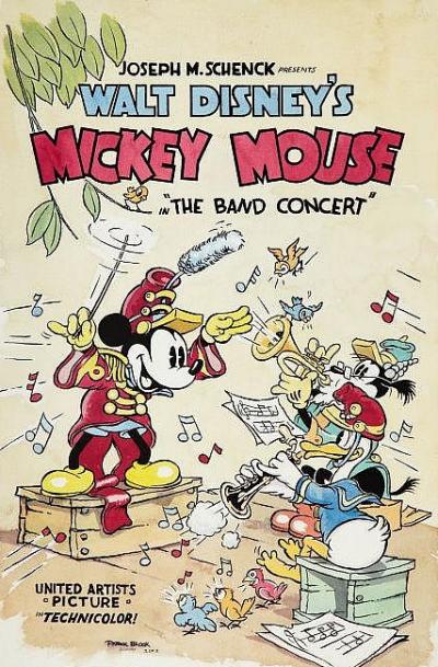 La Fanfare Chronique Disney Critique Du Cartoon De Mickey