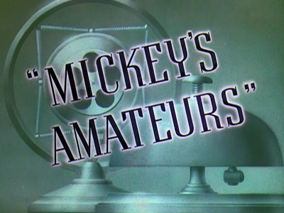 Amateurs de Mickey