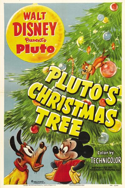 L 39 arbre de no l de pluto chronique disney cartoon de - Le noel de pluto ...