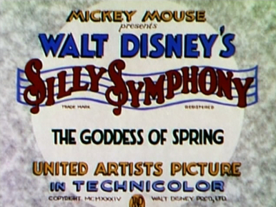 la d233esse du printemps chronique disney silly symphonies