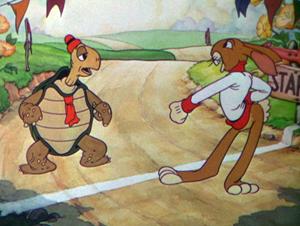 le lievre et la tortue disney