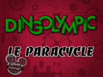 Dingolympic : Le Paracycle