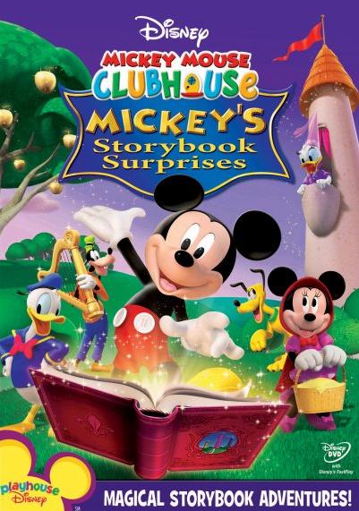 La Maison de Mickey - Contes & Surprises - Compilation DVD