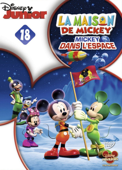 la maison de mickey mickey dans l 39 espace chronique disney. Black Bedroom Furniture Sets. Home Design Ideas