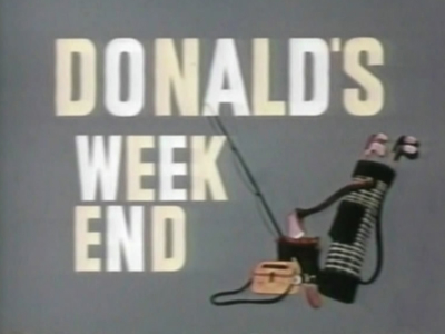 Donald's Weekend