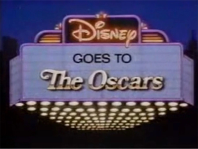 Disney Goes to the Oscars