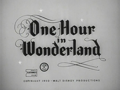 One Hour in Wonderland