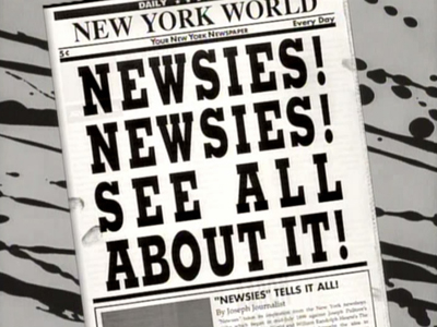 Newsies ! Newsies ! See All About It