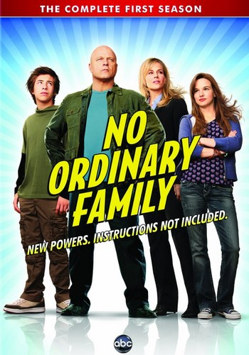 Jaquette No Ordinary Family