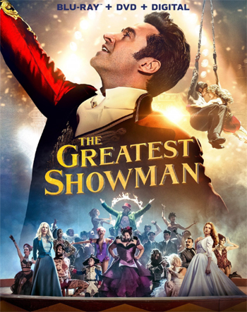 Jaquette The Greatest Showman