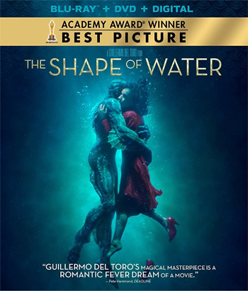 Jaquette La Forme de l'Eau - The Shape of Water