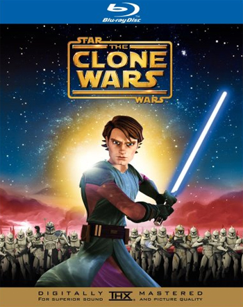 Jaquette Star Wars : The Clone Wars