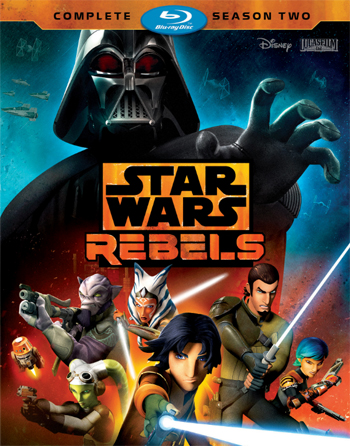 Jaquette Star Wars : Rebels - Saison 2