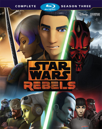 Jaquette Star Wars : Rebels - Saison 3
