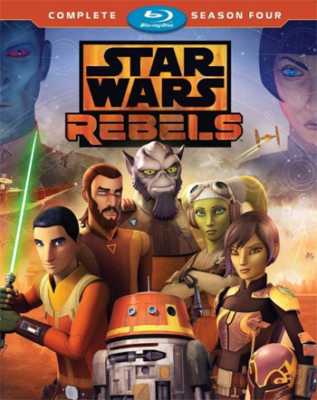 Jaquette Star Wars : Rebels - Saison 4