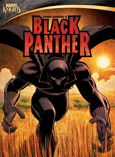 Jaquette Black Panther