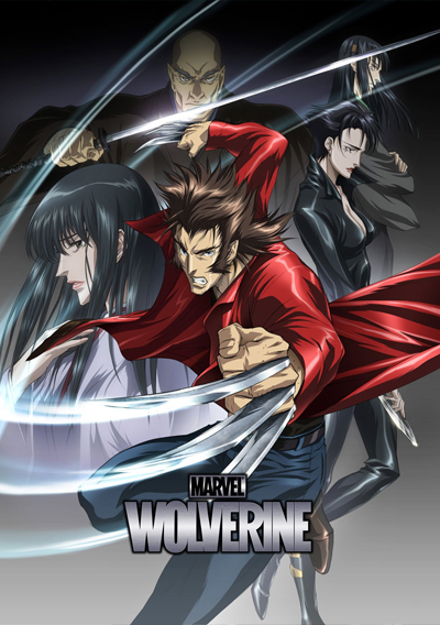 Marvel Anime - Wolverine