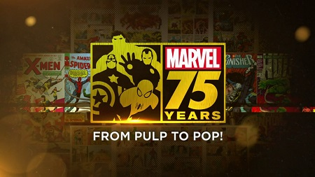 Marvel : 75 Years, From Pulp to Pop !