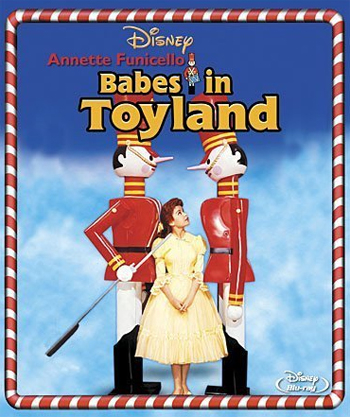 Jaquette Babes in Toyland