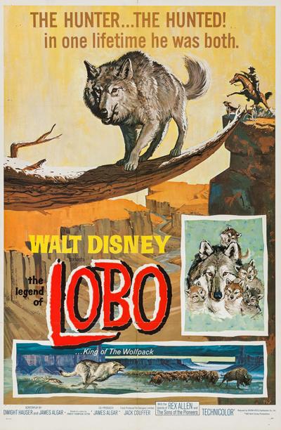 La Légende de Lobo affiche