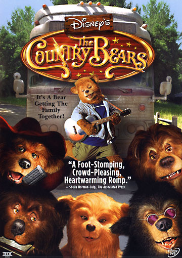 Jaquette Les Country Bears
