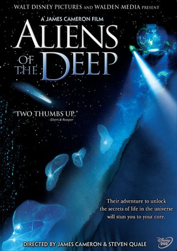 Jaquette Aliens of the Deep